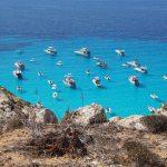 La calda estate di Lampedusa: è boom di turisti